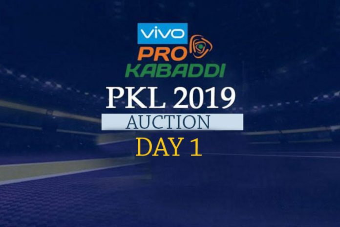 PKL 2019,PKL 2019 Auction,PKL 2019 Auction Live,PKL Auction 2019 Live,Pro Kabaddi League