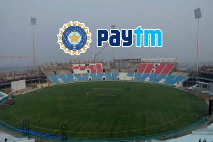 PayTm,BCCI,BCCI Tender,BCCI title sponsorship,BCCI title sponsorship tender