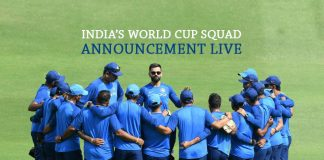 ICC Cricket World Cup 2019,ICC World Cup team India Squad,ICC World Cup Squads,ICC World Cup 2019 Team Squad,ICC World Cup Team India Squad