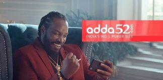 Adda52,Adda52 Campaign,Chris Gayle,Chris Gayle Campaign,Chris Gayle Adda52 Campaign