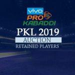 PKL 2019,Pro KabaddiLeague,Pro Kabaddi,PKL 2019 Auction,PKL 2019 Retained players