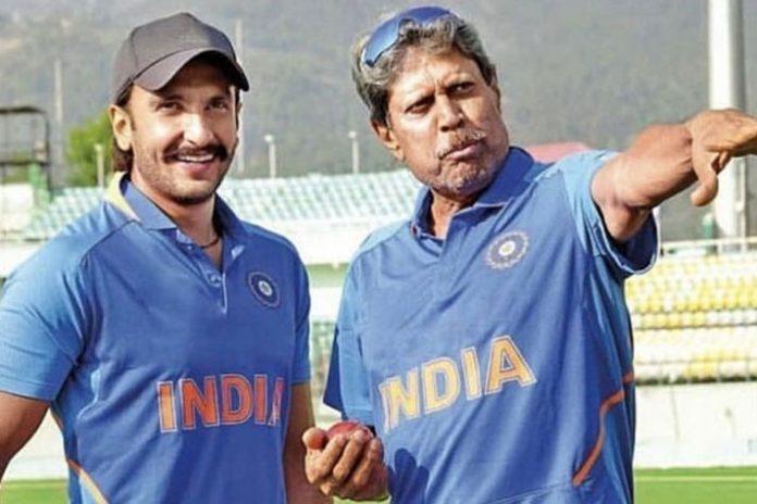 Ranveer Singh,Ranveer Singh Movie,1983 World Cup,1983 World Cup Movie,Kapil Dev