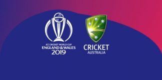 Cricket Australia,ICC Cricket World Cup 2019,ICC World Cup Australia Squad,ICC Cricket World Cup 2019,ICC Cricket World Cup 2019