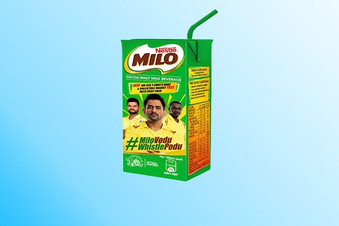 MILO,MILO campaign,Indian Premier League,Chennai Super Kings,CSK Players