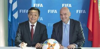 FIFA,Gianni Infantino,Chinese Football Association,CFA,FIFA council