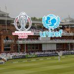 ICC World Cup 2019,ICC Cricket World Cup 2019,ICC World Cup 2019 Partnerships,ICC World Cup 2019 Sponsorships,UNICEF