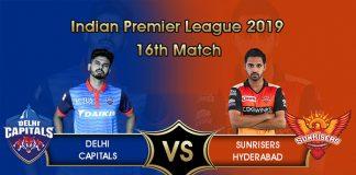 IPL 2019,IPL 2019 Live,DC vs SRH Live,Delhi Capitals vs SunRisers Hyderabad Live,Watch DC vs SRH Live