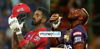IPL Moneyball,IPL 2019,Andre Russell,Kolkata Knight Riders,Indian Premier League