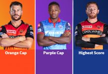 Indian Premier League 2019,IPL 2019 Highest Score,IPL 2019 Orange Cap holder,IPL 2019 standings,SunRisers Hyderabad