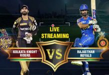 IPL 2019,IPL 2019 Live,KKR vs RR Live,Kolkata Knight Riders vs Rajasthan Royals Live,Watch KKR vs RR Live
