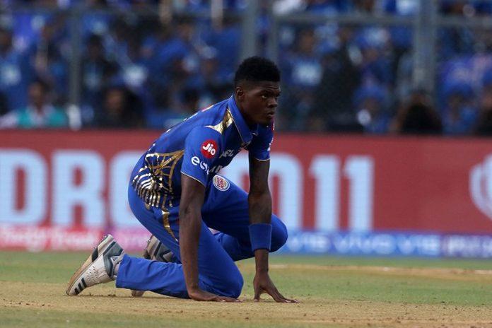IPL 2019,Alzarri Joseph,Mumbai Indians,IPL Season 12,Mumbai Indians Player Injury