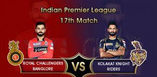 IPL 2019,IPL 2019 Live,RCB vs KKR Live,Royal Challengers Bangalore vs Kolkata Knight Riders Live,Watch RCB vs KKR Live