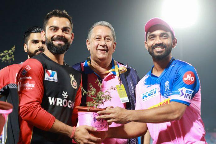 Royal Rajasthan Foundation,Amrita Devi Bishnoi Nursery,Royal Challengers Bangalore,Rajasthan Royals,IPL 2019