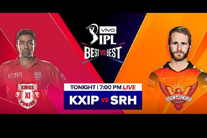 IPL 2019,IPL 2019 Live,SRH vs KXIP Live,SunRisers Hyderabad vs Kings XI Punjab Live,Watch SRH vs KXIP Live