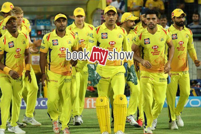 IPL 2019,IPL 2019 Tickets,Chennai Super Kings Tickets,CSK Tickets Online,Book My Show