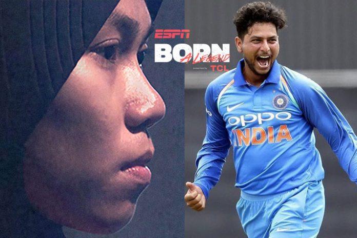 ESPN,TCL,Born a Legend video series,ESPN Video Series,Kuldeep Yadav Video Series