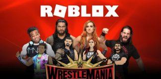 Roblox,WWE partnership,Roblox Partnerships,WrestleMania,WWE WrestleMania