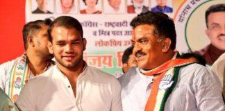 Wrestler cop Narsingh Yadav suspended for campaigning