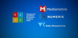 BARC,BARC India,Médiamétrie France,Numeris Canada,Broadcast Audience Research Council