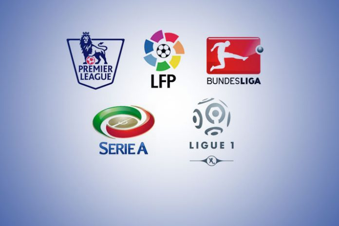 Serie A revenues,Bundesliga revenues,LaLiga revenues,Football Leagues revenues,Premier League revenues