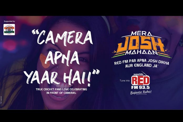 Capture the World Cup 'JOSH' in Red FM-Bharat Army campaign