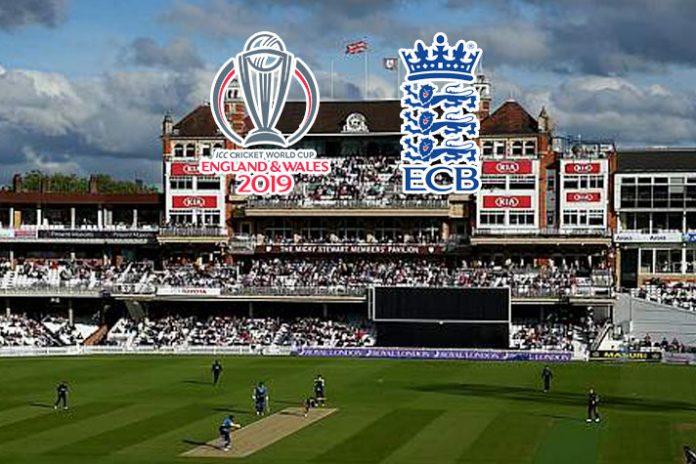 ICC World Cup 2019,ICC Cricket World Cup 2019,ICC Cricket World Cup,ECB,England and Wales Cricket Board