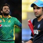 I will personally take you to psychiatrist: Gambhir jibe at Afridi comments
