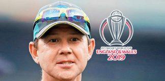ICC World Cup 2019,ICC Cricket World Cup 2019,ICC World Cup 2019 Live,Ricky Ponting,ICC World Cup Australia squad