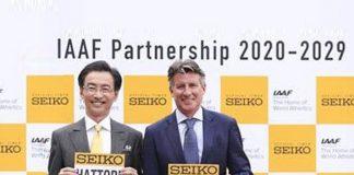 IAAF,IAAF Partnerships,Seiko,Seiko Partnerships,World Athletics Championships