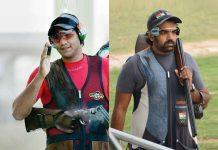 Kynan, Prithviraj lead men's trap qualification