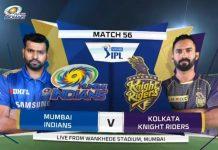 IPL 2019,IPL 2019 Highlights,MI vs KKR Highlights,Mumbai Indians vs Kolkata Knight Riders Highlights,Watch MI vs KKR Highlights