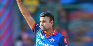 Mishra's dismissal for obstructing field is only second in IPL history