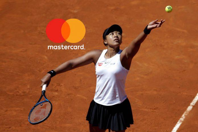 Naomi Osaka to sport Mastercard logo on Nike visors