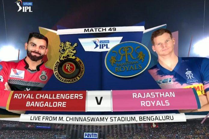 IPL 2019,IPL 2019 Highlights,RCB vs RR Highlights,Royal Challengers Bangalore vs Rajasthan Royals Highlights,Watch RCB vs RR Highlights