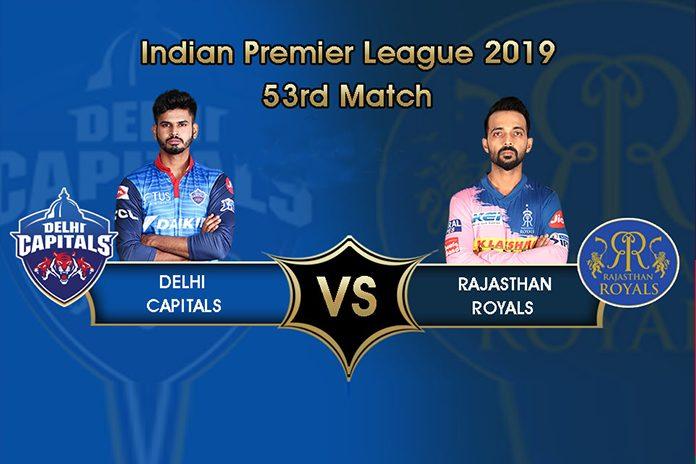 IPL 2019,IPL 2019 Live,DC vs RR Live,Delhi Capitals vs Rajasthan Royal Live,Watch DC vs RR Live