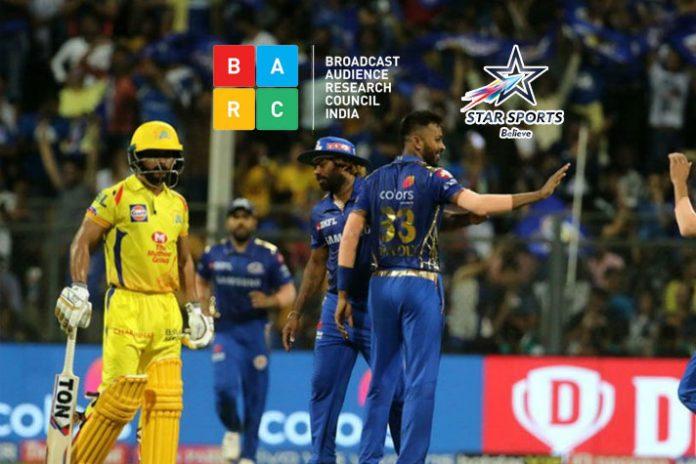 BARC Rating,BARC India,Indian Premier League,Star Sports,Star Sports 1 Hindi