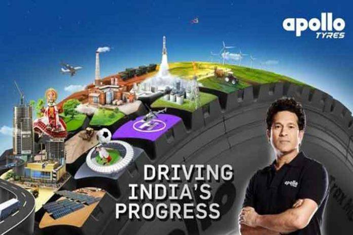 Apollo Tyres,Apollo Tyres TVC,Sachin Tendulkar,AR Rahman,Sachin Tendulkar TVC