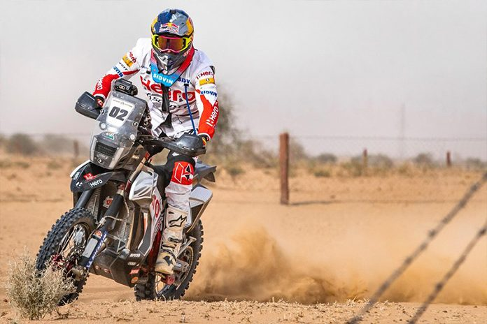 Hero Motorsports' Santosh wins 3rd leg of Desert Storm Rally