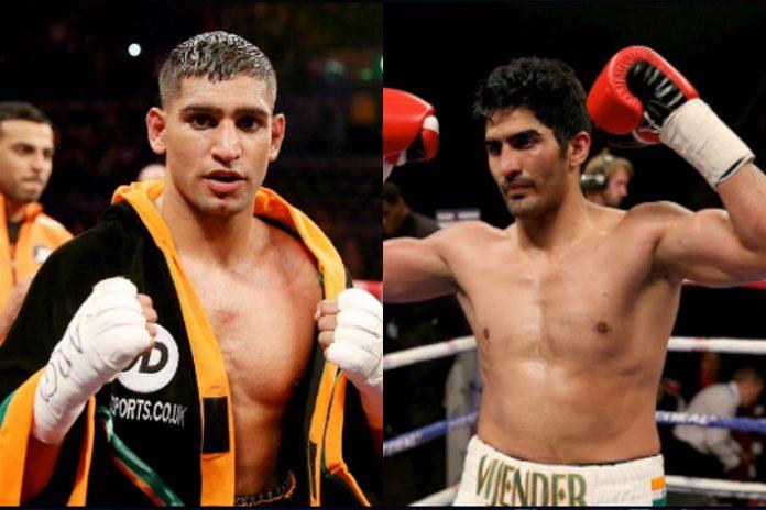 Vijender is scared of me, says British boxer Amir