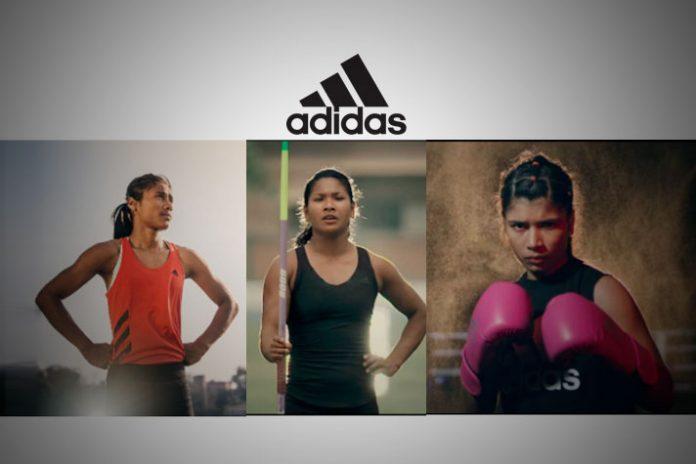 adidas,Hima Das,Swapna Burman,Nikhat Zareen,She Breaks Barriers