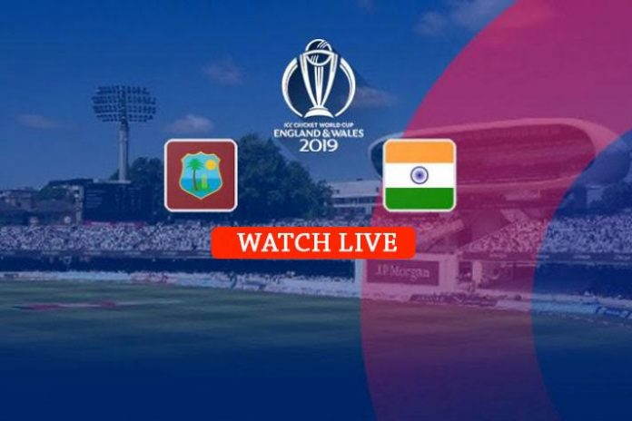 ICC World Cup 2019 Live,ICC Cricket World Cup 2019 Live,Watch ICC World Cup 2019 Live,India vs West Indies Live,Watch IND vs WI Live