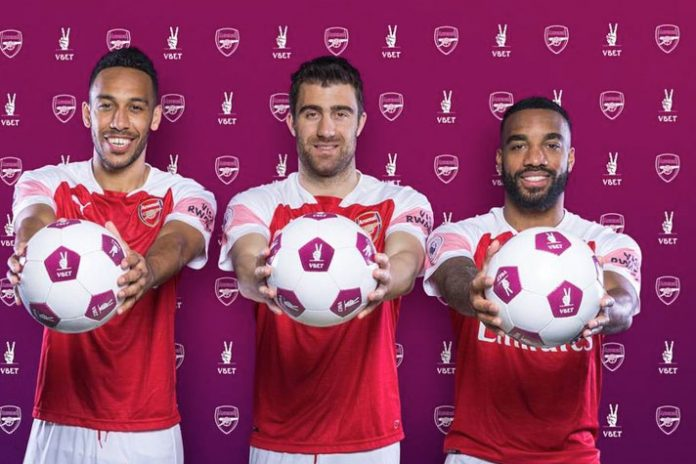 Arsenal gets a betting and gaming partner