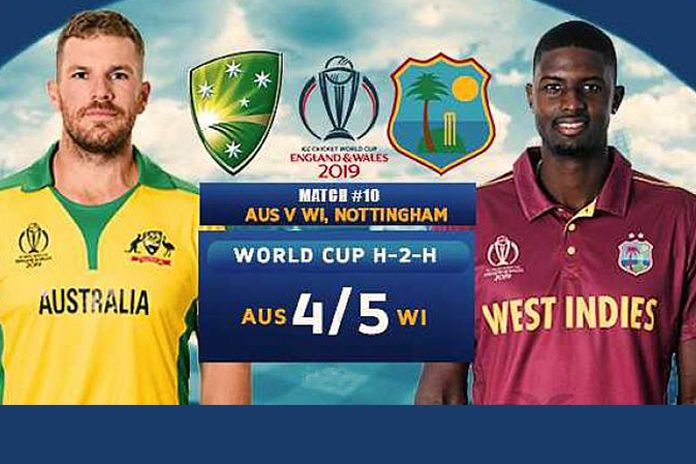 ICC World Cup 2019 Live,ICC Cricket World Cup 2019 Live,Watch ICC World Cup 2019 Live,Australia vs West Indies Live,Watch Australia vs West Indies Live