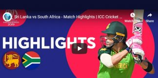 ICC World Cup 2019 Highlights,ICC Cricket World Cup 2019 Highlights,Watch ICC World Cup 2019 Highlights,South Africa vs Sri Lanka Highlights,Watch South Africa vs Sri Lanka Highlights
