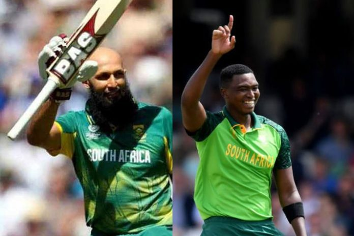 Injured Lungi Ngidi out of India game, Amla recovering well
