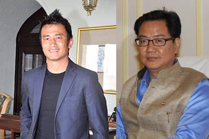Bhutia meets sports minister, talks football