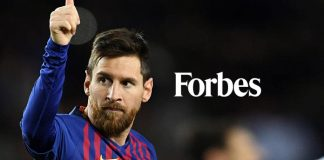 Lionel Messi,Forbes,Forbes Top 10 highest paid athletes,Forbes Top 10 highest paid athletes 2019,Top 10 highest paid athletes 2019