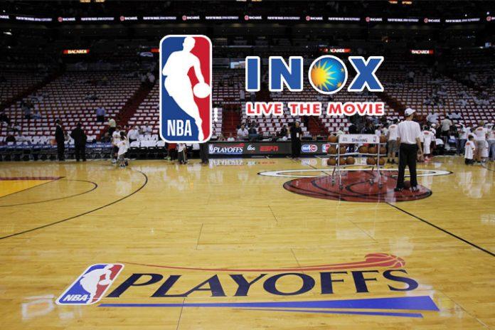 NBA to mark presence at INOX multiplexes