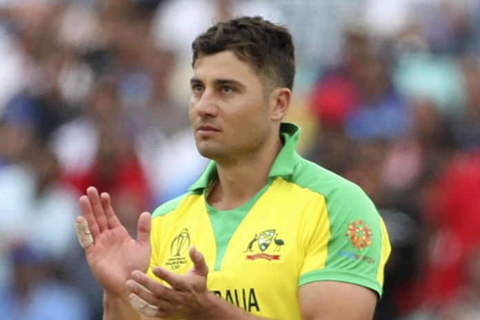 Stoinis recovers from injury, retained in Australia's World Cup squad