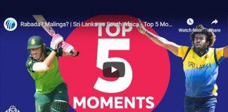 Cricket World Cup 2019,ICC Cricket World Cup 2019,World Cup 2019,Sri Lanka vs South Africa Top 5 Moments,South Africa vs Sri Lanka Top 5 Moments